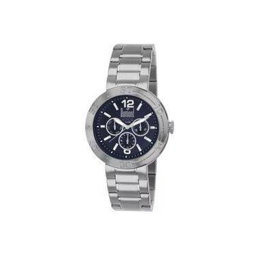 a66b9613691 Relógio Masculino Dumont Rotor DU6P29ABI 3A - Prata