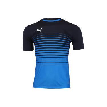 Camisa Puma Play Graphic - Masculina - AZUL Puma 3d6de0464ac
