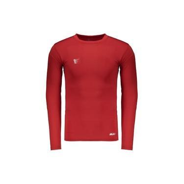 Camisa Térmica Super Bolla Manga Longa Vermelha