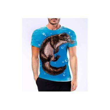 Camiseta Camisa Ornitorrinco Mamífero Pato Castor Ovíparo 5