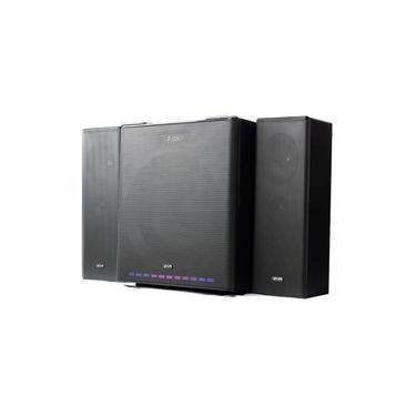 Mini System 2.1 Subwoofer 90w Bluetooth Fm Usb Rca KP-6027BH
