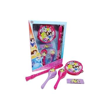 Kit Instrumentos Musicais Infantil Princesa Brinquedo Disney