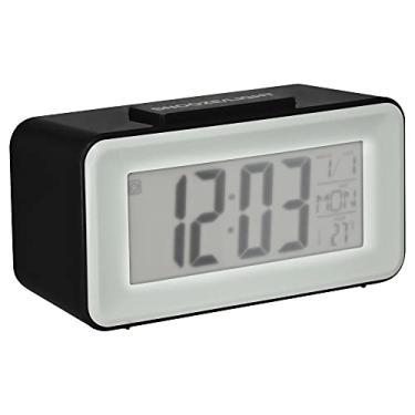 Imagem de Relógio Despertador Digital de Mesa com Sensor Noturno