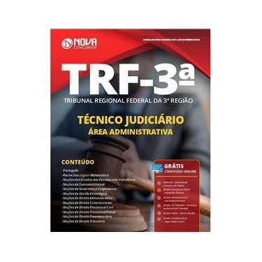 Imagem de Apostila Trf 3 2019 - Técnico Judiciário - Área Adm