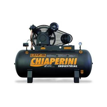 Compressor Ar CJ20 + APV 200L - Trifásico - Chiaperini