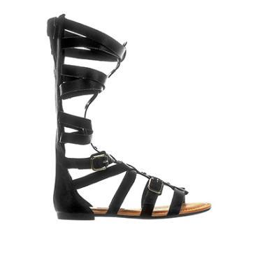 ece1550fc7 Sandália R  67 a R  200 Feminino Rasteirinha Dakota Preto gladiadora ...