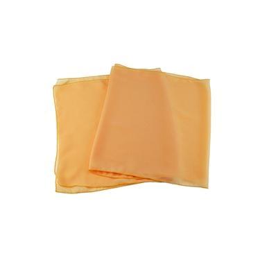 Echarpe Amarelo Chiffon