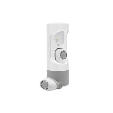Fone de Ouvido Motorola VerveOnes Music Edition Bluetooth Cinza e Branco