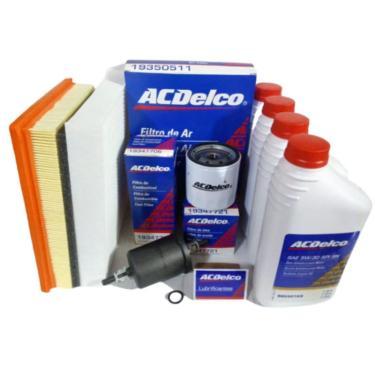 Kit Acdelco 5W30 Sintético Filtro Óleo Comb Ar Ac Onix 12 16