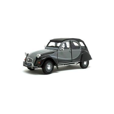 Imagem de Miniatura Citroën 2CV 6 Charleston Cinza Welly 1/24