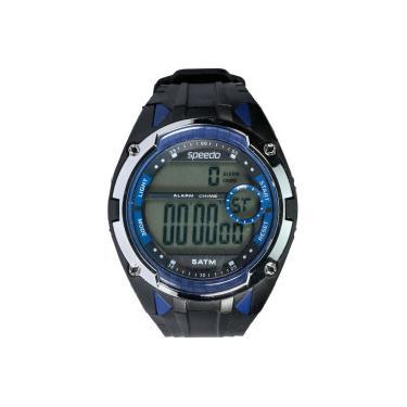 50a44e70c62 Relógio Digital Speedo 81148G0 - Masculino - PRETO AZUL Speedo