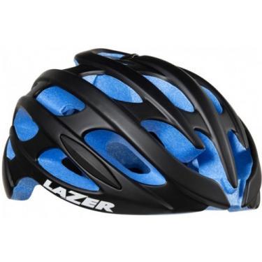 6437782e0 Capacete Lazer Blade Road Preto azul Fosco (M 55-59Cm)