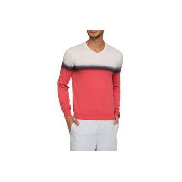 Suéter em Tricô Malharia Zanatta Basic Listras