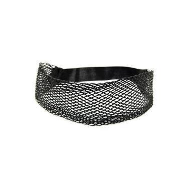 Headband Largo Transado Preto