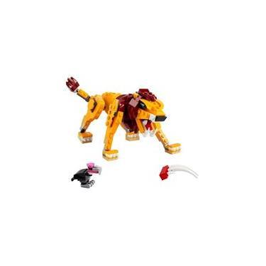 Imagem de Brinquedo de Lego 31112 Creator Leao Selvagem 3 em 1