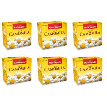 Chá Camomila Madrugada 6 Un x 10 Saches x 1g