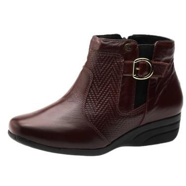 Imagem de Bota Feminina  Em Couro Roma Jambo 1069 Doctor Shoes  feminino