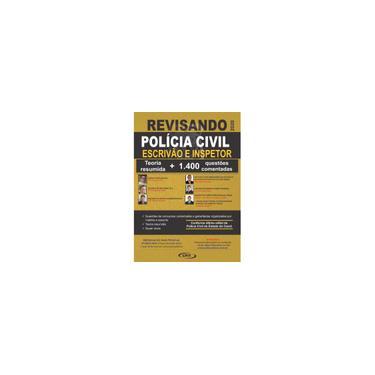 Imagem de Apostila Revisando pcce Polícia Civil Ceará (Inspetor e Escrivão)- Teoria Resumida e 1400 Questões Comentadas/2020 -