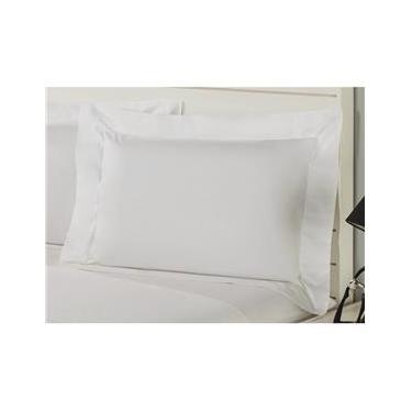 Imagem de Fronha Premium Pure Plumasul 230 fios 50x90 cm – Branco