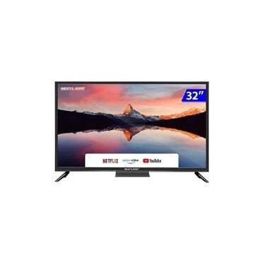 Imagem de Smart Tv Led 32 Hd Multilaser Tl026 3 Hdmi 2 Usb Wi-Fi