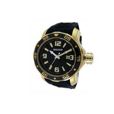 Relógio de Pulso Masculino Magnum Shoptime   Joalheria   Comparar ... 7b86b09201