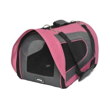 Bolsa de Transporte Pet&Go para Cabine de Avião Pandora Rosa - Tam. P