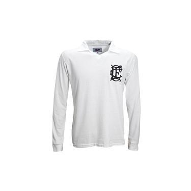 Camisa Liga Retrô Corinthian Ingles 1910 Longa