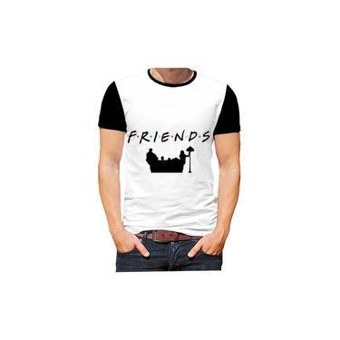 Camiseta Camisa Friends Series Filmes Amigos Nostalgia Hd
