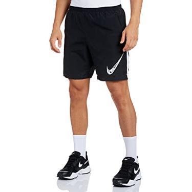 Imagem de Shorts Nike Run 7in BF WR GX Preto e Branco - Masculino