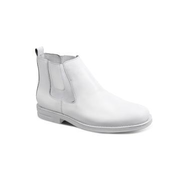 Bota Masculina Chelsea Sandro Moscoloni Doctor Boot Branco