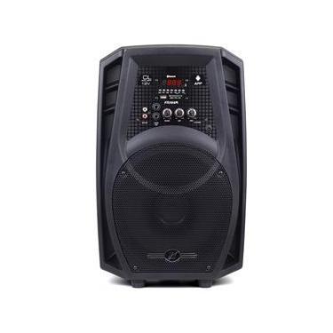 Caixa Amplificada CL400 APP 12V 80W Preta 31230 - Frahm