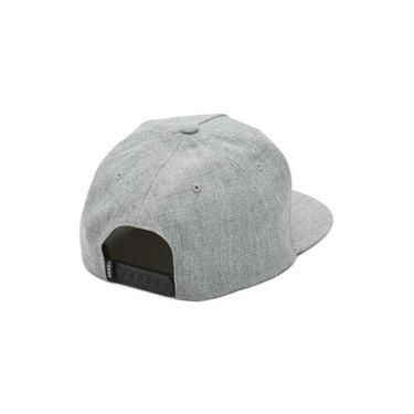 Boné Vans Full Patch Snapback - Grey