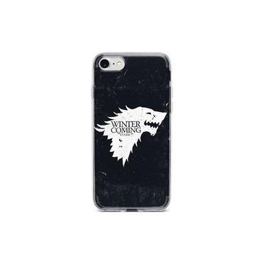 Capinha Capa para celular LG K10 NOVO 2017 (LGM-250DS) - Game of Thrones Winter is Coming