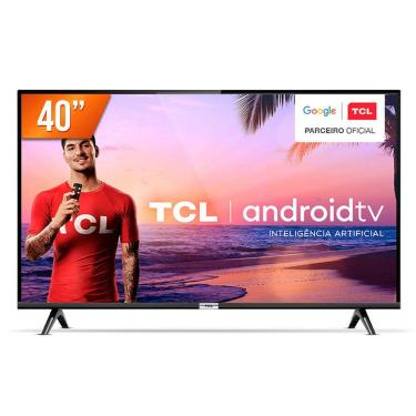 Imagem de Tv Tcl 40 Polegadas 40s6500fs Full Hd Hdr - Android Tv - Chumbo