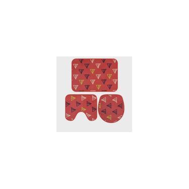Imagem de Jogo de Tapetes de Banheiro 3 Pçs Astral Jolitex Vários Modelos