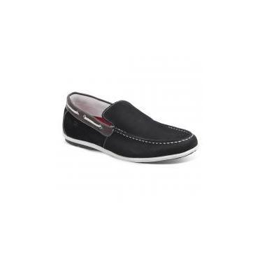 a7c5fbd631 Sapato masculino dockside sandro moscoloni malibu preto black - Sandro  republic