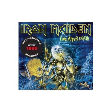CD Duplo Iron Maiden - Live After Death 1985 - Remastered