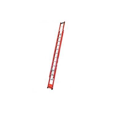 Imagem de Escada Extensiva 23 Degraus tipo D e Fibra Vazada 4,20 x 7,20 Metros