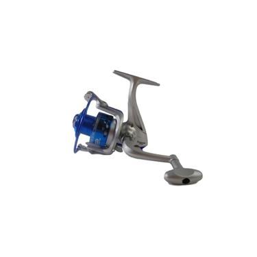 Molinete De Pesca Sahara Dourado 7000 3 Rolamentos Drag 5 Kg Prata Com Azul