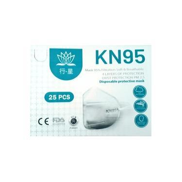 05un Máscaras Respirador Kn95 N95, Pff2