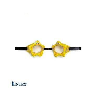 Óculos de Natação - Bichinhos Animados - Amarelo - Intex