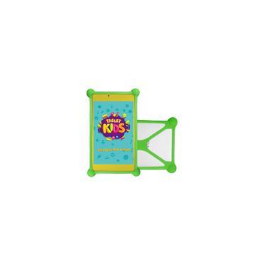Imagem de Tablet Dl Kids C10 - Tela 7 Quad Core 8Gb Wifi - Android - Branco - c/ Capa Bum