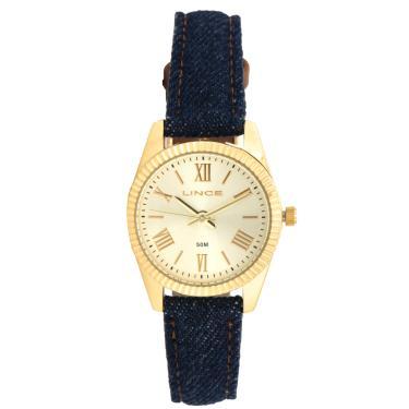0b40850eeb3fd Relógio Lince LRC4509L-C3DX Azul-Marinho Dourado Lince LRC4509L-C3DX  feminino