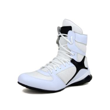 Bota Academia de Treino Mr. Gutt Fitness Branco  unissex