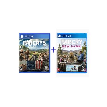 Far Cry 5 + Far Cry New Dawn - PS4