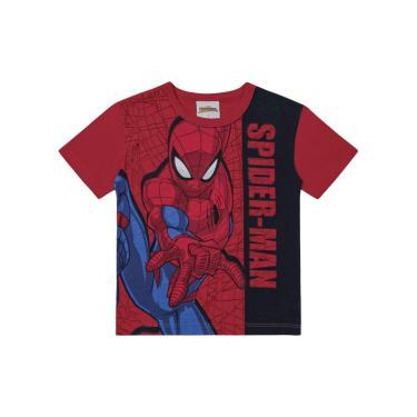 Camiseta Spider-Man, Vermelho, 2