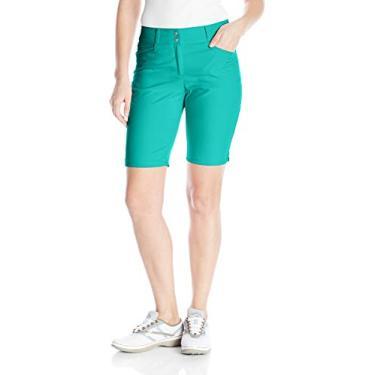 Bermuda feminina Adidas Golf Essential, Hi-res Aqua, 16