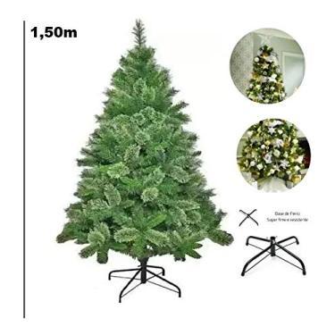 Árvore De Natal Modelo Luxo 260 Galhos 1,5m