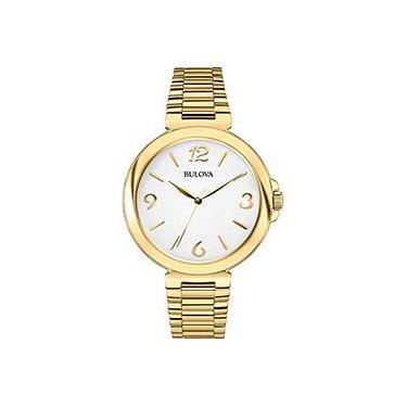 0983e2434d2 Relógio Feminino Bulova Analógico Social WB27850H