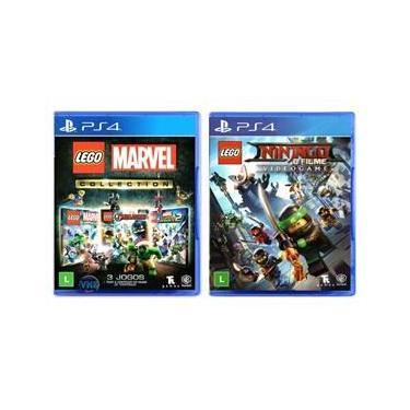 LEGO Marvel Collection + LEGO Ninjago - O Filme: Video Game - PS4